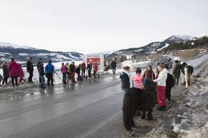 Åre Hästsportarena kommer att ligga längs vägen upp mot Björnen ovanför Björnänge.