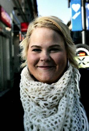 Frida Fridell, 17, Östersund:– Nej, jag har gjort mig förtjänt av den.
