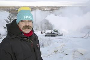 Snötillgången är fantastiskt bra i år. Vi hade optimala förhållanden när vi körde kanonen. Robert Lindstedt