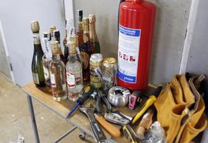 Det här är beslagtaget gods som blivit kvar hos Ljusdalspolisen eftersom dess ägare aldrig har hittats.