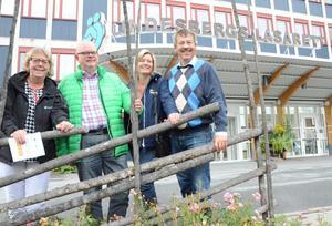 Kortare vårdköer. Det blir det första uppdraget 2015 för landstingets verksamheter om Alliansen vinner valet, enligt Ewa Sundkvist (KD), Torbjörn Ahlin (C), Anna Ågerfalk (FP) och Ola Karlsson (M).