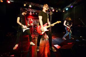 Höstpremiär för Live@Domsaga. Militia var först ut på scenen av fyra band.