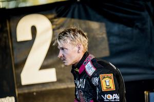 Fredrik Lindgren har dragit på sig en allvarlig ryggskada och missar därmed resten av säsongen.