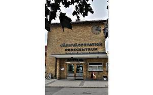 Turistbyrån är sedan förra hösten inhyst i gamla stationshuset.FOTO: BOEL FERM