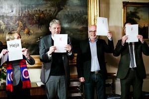 Kommunfullmäktiges ordförande Agneta Blom (S).