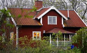 Det är bara i Kronobergs, Gotlands och Norrbottens län som antalet sålda småhus ökar. Foto. Hasse Holmberg / TT