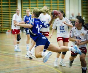 Amanda Hanning lyfte i finalen – men Arbrå föll mot Borlänge.