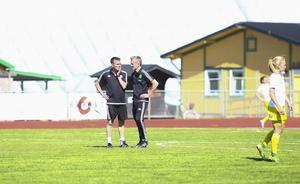 Micke Helmersson och Tomas Wennberg tränare Ljusdal även kommande säsong.