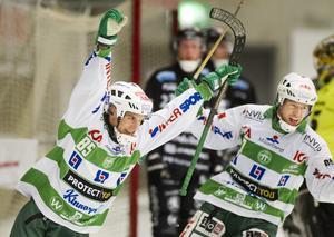 Pekka Rintala och Micke Olsson i VSK, år 2012.