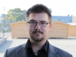 Marcus Molinder, gruppledare för Sverigedemokraterna i Timrå.