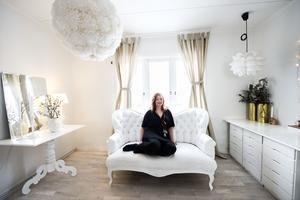 Linda Kristmansson brinner för heminredning. För fem år sedan skapade hon Facebookgruppen
