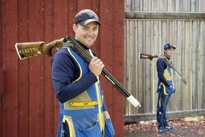 Svenskarna är i final i skeet.