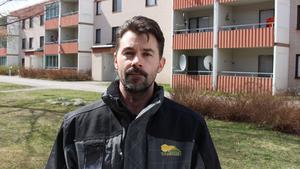 Svante Ask är områdeschef på Tunabyggen i Borlänge.