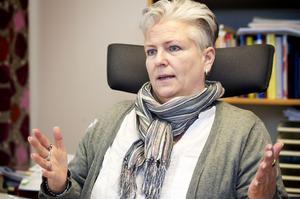 Örnsköldsvikspolisen Anne-Jeanette Arnqvist är länets kontaktperson kring våld i nära relationer år.