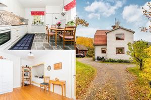 Villan på Tunavägen 30 i Pilbo i Falun är byggd 1932 och har fyra rum.