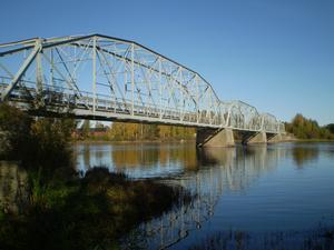 Gamla bron över nedre Daläven i Näs. Fotograf: A.olofsson