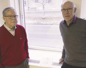 Lennart Sundström och Nils Eriksson från Framtid för Jämtland har tillsammans med KTH gjort en studie om hur tågtrafiken skulle kunna utvecklas i länet.