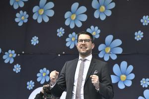 Jimmie Åkesson vill  ha inflytande på en borgerlig regering