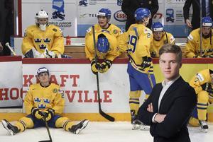Adam Johansson känner sig tom efter Sveriges förlust mot Finland.