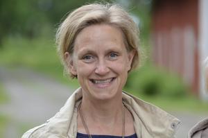 Katrin Gabrielsson, Örebro.- ...och det passade jättebra och då gjorde vi det. Våra förväntningar på föreställningen är nog att det finns lokal anknytning, lite lättsamt och underhållande.