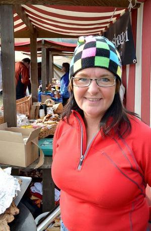 Erika Dillner var med och kläckte idén till Klövsjö höstmarknad. Nu har hon funderingar på hur den ska utvecklas.