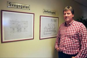 – Vi har inte några våldsamma bostadsköer någonstans i kommunen, förklarar Hans Svensson, vd för Härjegårdar.