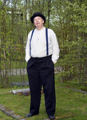 Tord Lundgren som strejkledaren Isak Boström.