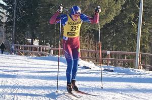 Edvin Anger tävlar för fullt på USM i Borås under helgen.