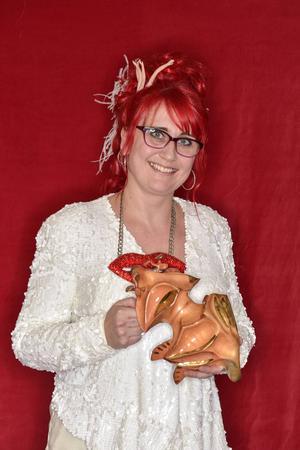 Cilla Rörby från Gävle tilldelades en bagge för kostymering i filmen