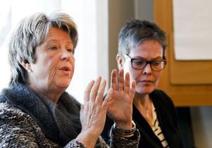 Erfarna företagarna Agnetha Påhlin och Karin Svärd Hertel har lett arbetet med höstens satsning för att främja kvinnors företagande.