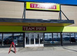 Team Sportia i Örnsköldsvik öppnar snart igen.