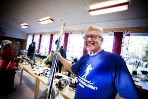 Harry Westerlund från Friluftsfrämjandet gick själv med efter en bytardag för 40 år sedan.