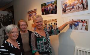 Christina Pettersson, Irene Hansjons och Inga Lill Buud hittade sig själv på ett foto som tagits inför jubileet.
