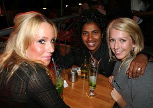 Tabazco. Therese, Berny och Anna
