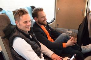 Johan Persson och Robin Laszlo är två av personerna som varit med och format Brages trupp inför kommande säsong.