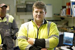 Vemodigt, tycker sågverkschefen Christer Rosén...