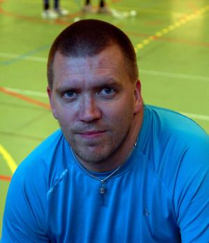 ...liksom tränarkollegan Johan Morelius.