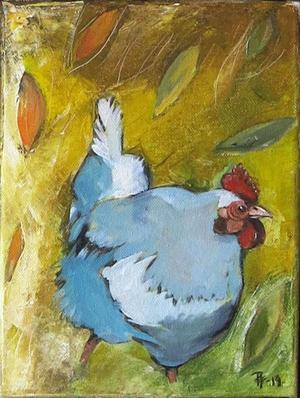 Måleri av Petra Fridh.