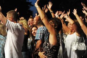 Trots lågt intresse i början av kvällen kom publiken lagom till Di Levas konsert.