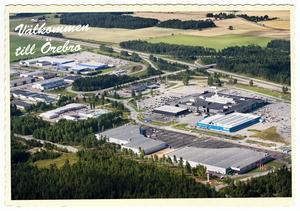 Mariebergs handelsområde är ett shoppingmecka för hela Närke med sina 162 000 kvadratmeter.