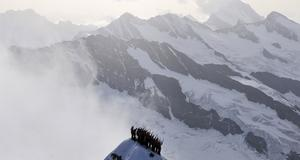Jungfraujoch, i Schweiz