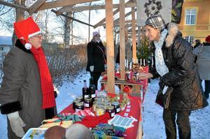 2016 hölls den första julmarknaden vid Trystorps slott men Tångeråsa bygdeförening har numera flyttat den till Tångeråsa sockencentrum.Foto: Barbro Isaksson/Arkiv