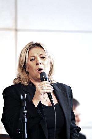 Monica Borrfors visade prov på ett berömvärt melodival och fin mikrofonteknik.