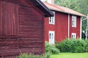 I bryggstugan vid Göllas bor i dag Therese Fagerhov med sina ungdomar.