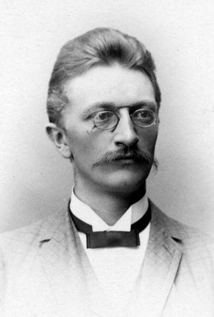 DOG BARA 39 ÅR GAMMAL Carl Leopold Sjöberg från Gävle avled året innan hans mästerverk framfördes för första gången.