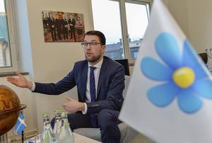 Sverige, världen och SD. Natomotstånd är ingen hjärtefråga för SD-ledaren som nu gör politiska kalkyler för framtiden.