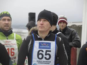 Jonas Ullberg, orienetare för Mora, var också med i tävlingen. Nästa vecka åker han till Italien för att delta i snöskovärldsmästerskapen.