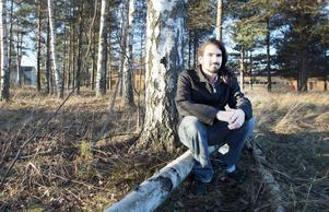 Eric Ficinus trivs med att vara ute i naturen.