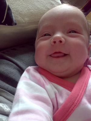 De blev många foton tagna innan farmor vart nöjd!!Hon kan det där med och charma. :)
