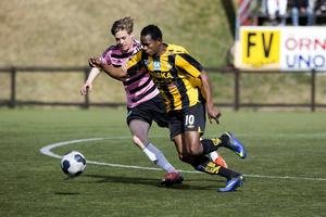 Albert Kargbo gjorde mål för andra matchen i rad när FV besegrade Timrå.